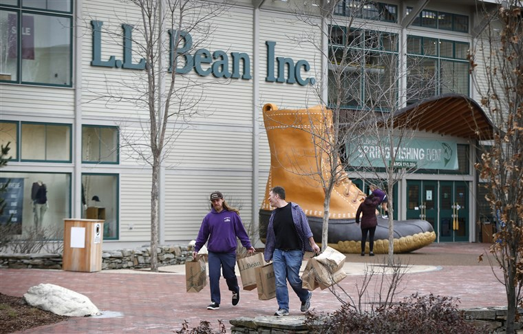 L.L. Bean retail store in Freeport, Maine.
