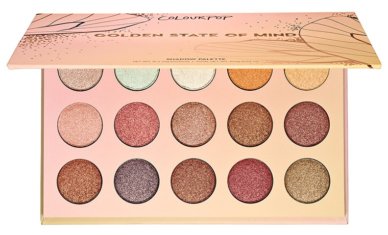 ColourPop Golden State Of Mind Shadow Palette