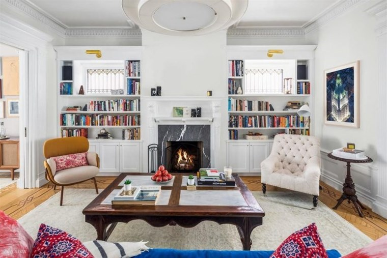John Krasinski and Emily Blunt Brooklyn townhouse