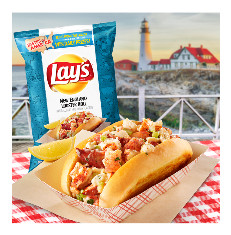 Posare's new lobster roll potato chips.