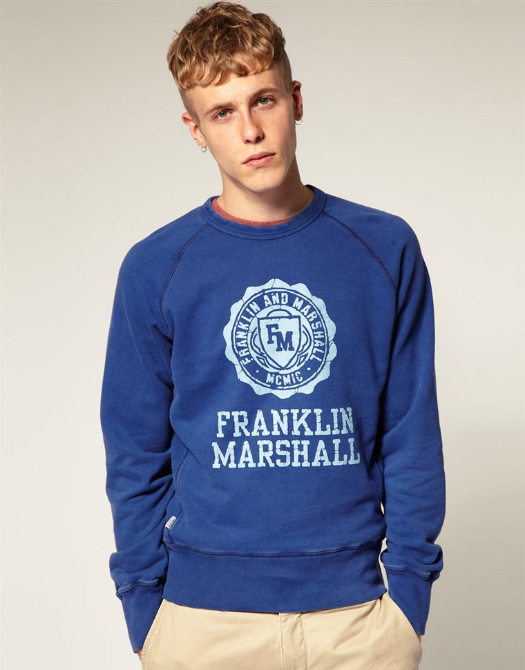 영상: Franklin Marshall sweatshirt