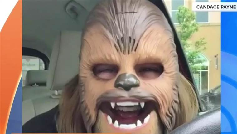 Maschera Chewbacca