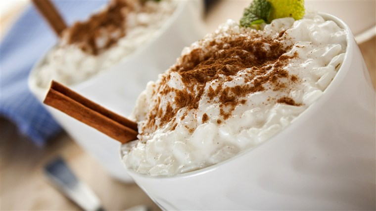 Lembut rice pudding