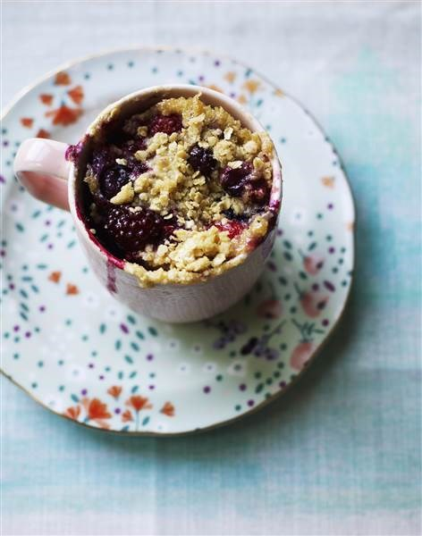 Badam berry breakfast mug